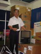Great Crate hits a Filippino ministry with Christmas blessing.