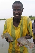 Innovative fish farms bring ministry to Senegal.