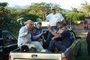Raising the roof in Honduras unites believers.