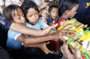 More rains forecast for flooded Jakarta; believers reaching out.