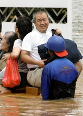 Jakarta flood conditions likely to worsen.