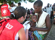 Waters receding in Mozambique, Christians stepping up relief