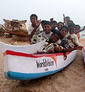 World Vision succesfully shares hope of Christ in tsunami-affected India.