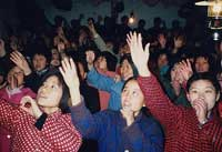 Mass arrests of church leaders and American Christians in China.