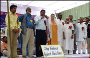 Dalit Christians in India protest