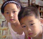 Children imprisoned for parents' faith in China