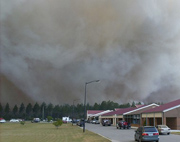 Christians are helping forest fire victims in the U-S