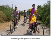 Bicycles play integral role in school ministry