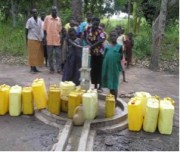 Wells determine the health of a village