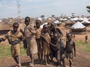 Children worship, troops withdraw
