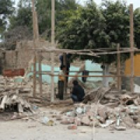 Churches damaged and destroyed in Peru earthquake