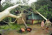Hurricane Felix hits land; Christians respond