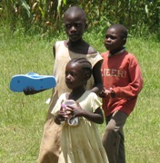 Foster homes and shoes impact Kenyan village