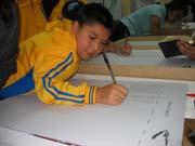 Hundreds of children drawn to launch of Ecuador's Bible Marathon