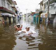 Worst flooding in years hits Mexico
