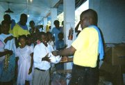 Ministry launches Christmas party preparations for Haiti