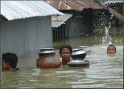 Christians are helping flood victims in Bangladesh
