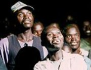 Film team shares message of peace in violent African prison