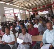 Ministry brings together partners to build capacity in Haiti