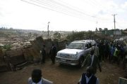 An outreach to launch new project in Kenya slums