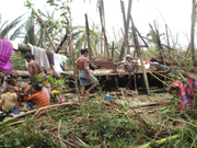 Children at risk in Myanmar's cyclone wake