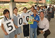 500 millionth child receives Book of Hope