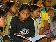 Palawano learn to read and write