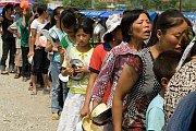 Earthquake survivors open to Gospel