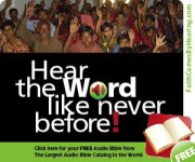 Audio ministry brings God to many nations