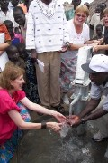Kids take action to help Ugandans return home