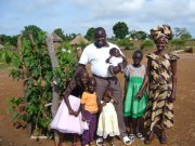 Pastor cultivating ministry in Sudan