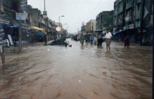 Northeast India suffering floods and sectarian violence