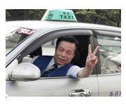 Christian radio sparks taxi conversation