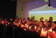 Christmas program in Ulaanbaatar