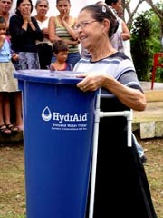 Churches bind together through water filter project
