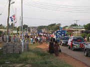 Christmas parade opens door for evangelistic rally in Ghana