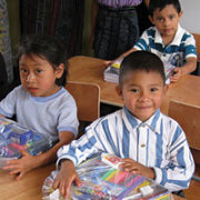 A Christian school begins work in  disaster-recovery zone in Guatemala