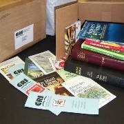 'Bare Your Bookshelf' project supplies Bibles for pastors overseas