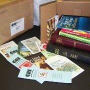 'Bare Your Bookshelf' project supplies Bibles for pastors overseas