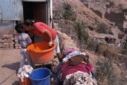 Children at risk in Peru's oil vs. tribal unrest