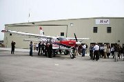 First MAF KODIAK missionary bush plane goes on tour.