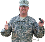 U.S. military the focus of audio Bible distribution