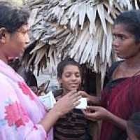Village drives out missionaries