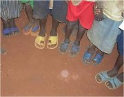 Shoe project for VBS Congo project opens doors for Gospel