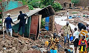 Rains force people from homes in Burkina Faso