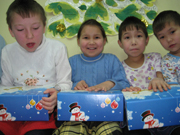 Project Hope brings Christmas, Christ to Russian children