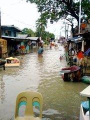 Flooding damages churches, destroys homes