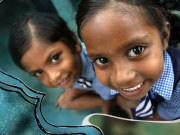 Orphans find a new love for books, thanks to OM