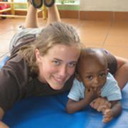 Vanderwell shows love to Haiti's orphans