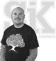 A t-shirt supports disabled children